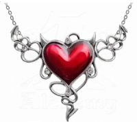 ULFP25 Devil Heart Genereux Necklace
